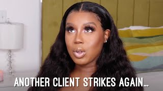STORY TIME GRWM: ANOTHER CLIENT STRIKES AGAIN  UNICE HAIR