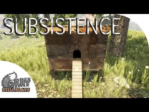 Subsistence - Animal Husbandry, Chicken Coop + Power Generator Built, Small Base Completed - Ep 3