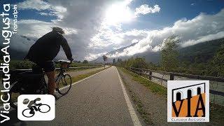 Via Claudia Augusta mit dem Fahrrad vom Allgu ber die Alpen an die Adria