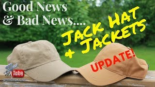 JACK HAT & JACKETS UPDATE I GOOD NEW & BAD NEWS I STITCH'S LOFT
