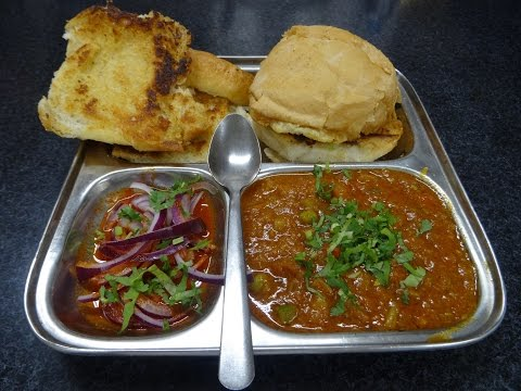 Pav Bhaji Restaurant Recipe: Indian Street Food, Mumbai Juhu Beach style at Tifin Box, Harrow Place.