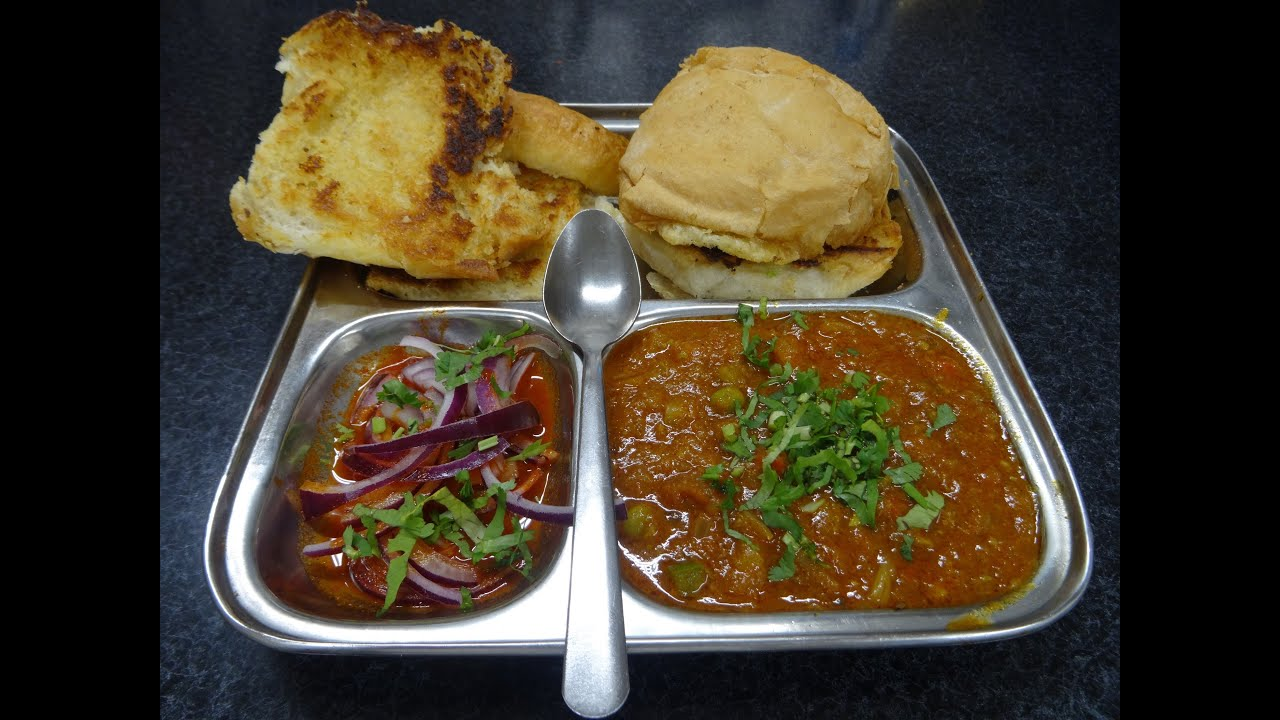 Pav bhaji restaurant recipe indian street food mumbai juhu beach pav bhaji restaurant recipe indian street food mumbai juhu beach style at tifin box harrow place youtube forumfinder Image collections