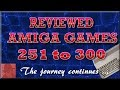 Reviewed AMIGA games 251 - 300 - njenkin Gaming Channel
