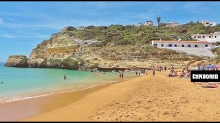 Португалия Алгарве, Пляж Бенагил, Так Много Топлесс