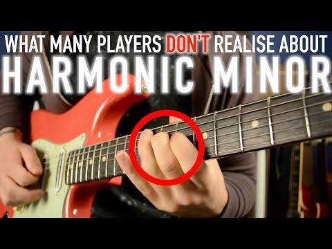 The Secret of the Harmonic Minor Scale