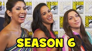 BROOKLYN NINE-NINE Season 6 Comic Con Cast Interviews