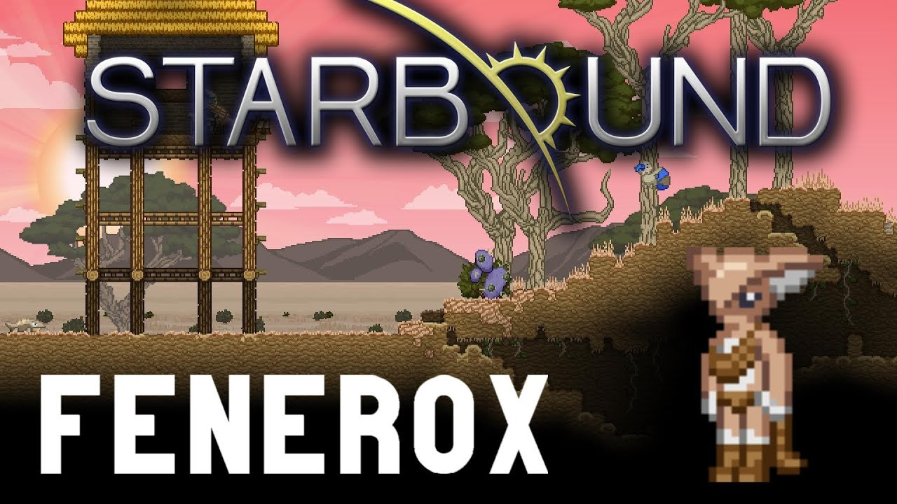 Starbound Custom Creations: Fenerox Weapons!
