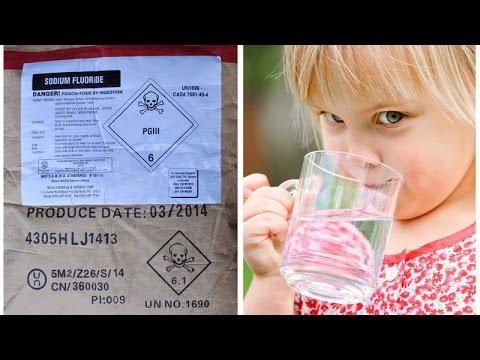 Sodium FLUORIDE in WATER is Fraudulent Hoax Science!