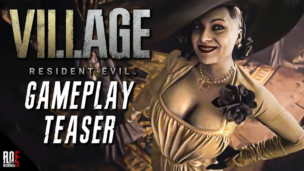 RESIDENT EVIL 8: VILLAGE || NEW GAMEPLAY TEASER | Gameplay Walkthrough Coming Soon!