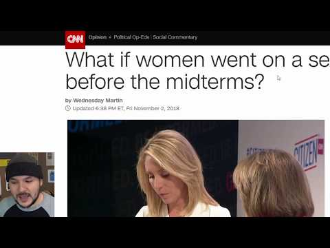 """Woman Wants """"Love"""" Strike Before Midterms For Political Power"""