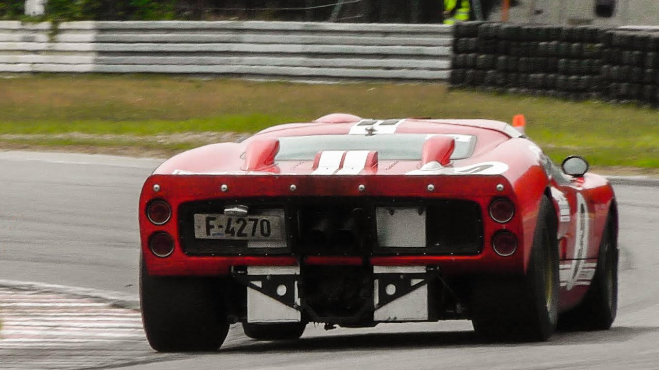 Ford GT40 mk2 1969 POWERSLIDES & EPIC SOUNDS - YouTube