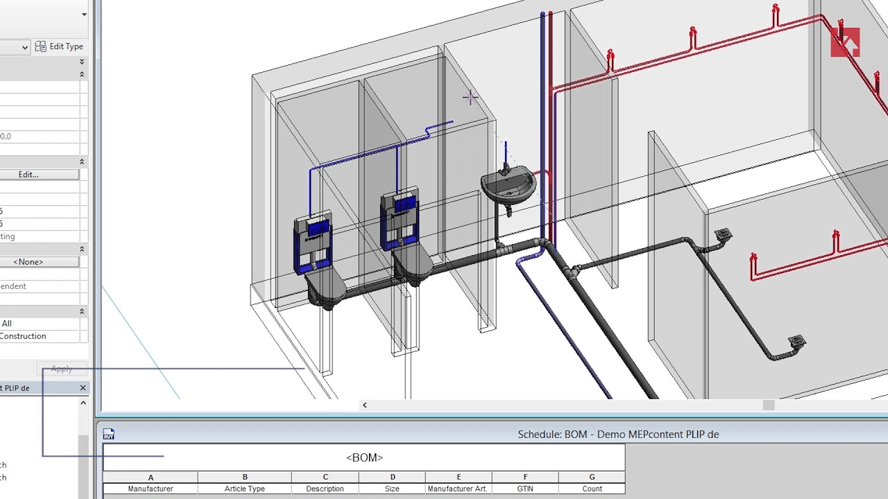 How to Draw Piping Systems in Revit: Drag and Draw + Fittings Added  Automatically