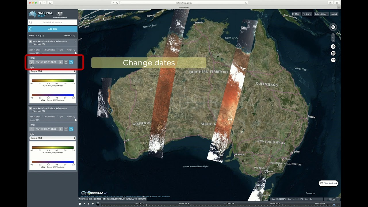 Map Of Yenda Australia.Near Real Time Satellite Images Show Us The Real Australia Blog