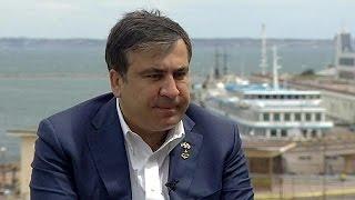 """Губернатор Одессы Саакашвили: """"потерям область -- вся Украина окажется в беде"""""""