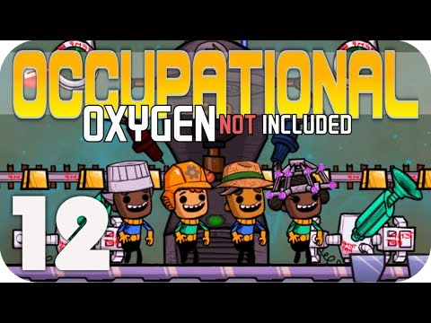 SHIVERING WHEEZE WORT!!! - Oxygen Not Included ▶OCCUPATIONAL UPGRADE◀  EP12 ONI JOBS UPDATE