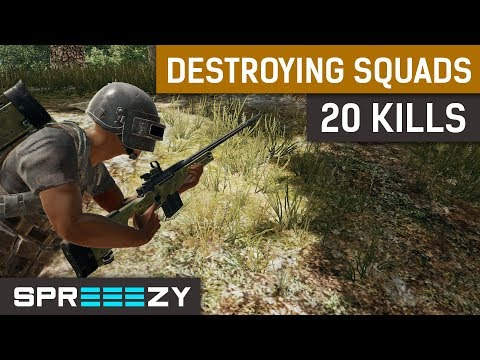 20 Kills Red Dot AWM sprEEEzy Meta | TPP 1 Man Squad