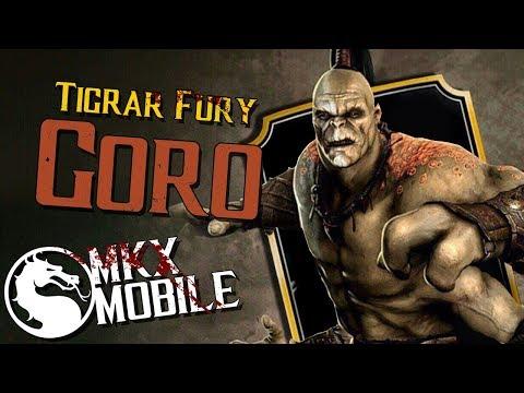 ОБЗОР: БЕШЕНСТВО ТИГРА ГОРО • Mortal Kombat X Mobile