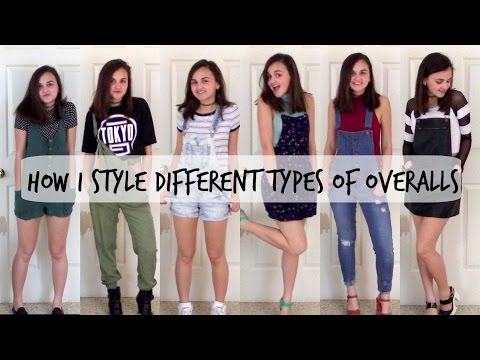 How I Style Different Types Of Overalls!