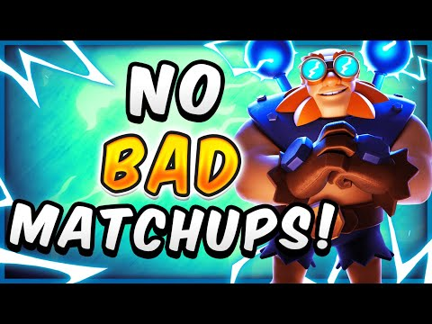 NERF THIS NOW! UNFAIR ELECTRO GIANT DECK DESTROYS ANY DEFENSE — Clash Royale