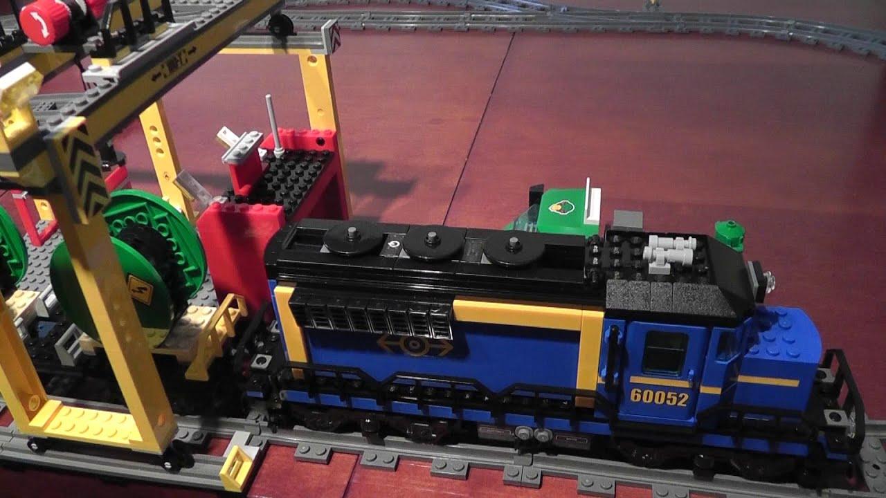 Unboxing Lego City 60052 Pociąg Towarowy Rozpakowanie Youtube