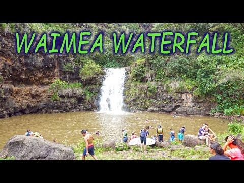 Waimea Waterfall, Oahu - Hawaii 4K