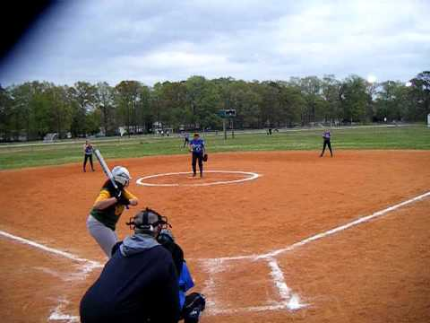 14 Year old Fastpitch Softball Pitcher. (60.2 mph) - YouTube