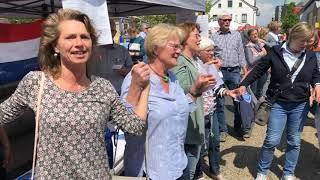 "Flashmob ""Ode an die Freud"" Rheine Nepomukbrücke"