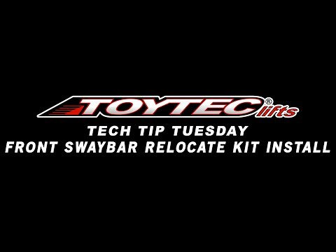 Tech Tip Tuesday - Installing A Front Swaybar Relocate Kit