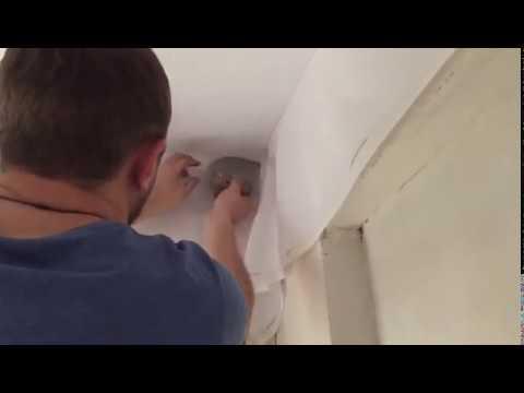 Устанавливаем тканевый потолок Дескор в Сочи