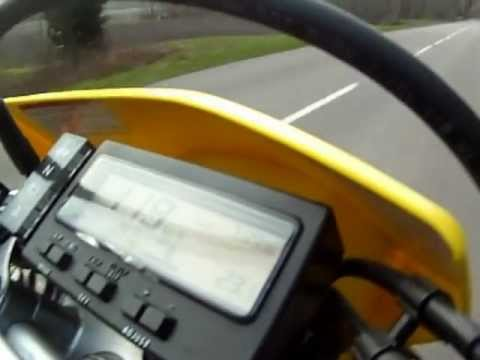 suzuki 400 drz 0-160 km/h ! top speed ! - youtube