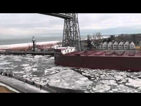 James R. Barker departs Duluth; first traffic of t...