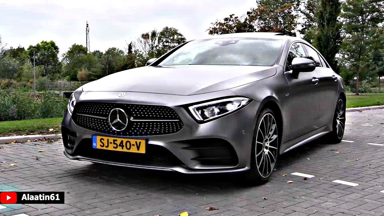 The New Mercedes Cls 450 Amg 2019 Best Luxury Coupe Drive Review