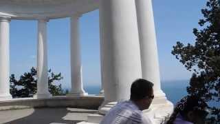 Красивые места Крыма: из беседки
