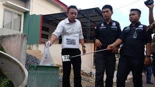 Kasus Dokter Suntik Bidan 56 Kali Sampai Pingsan  Dokter Yusrizal Jalani Rekontruksi di Rumahnya