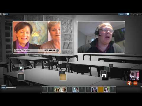 Edchat interactive with Lyn Sharratt and Beate