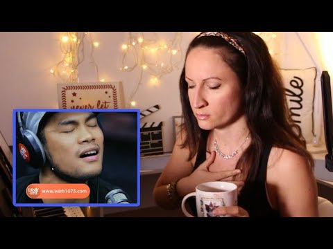 Vocal Coach REACTS to- BUGOY DRILON- ONE DAY- MATISYAHU on Wish 1075 bus