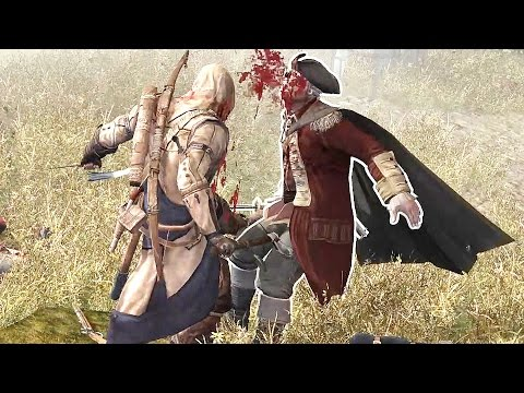 Assassin's Creed 3 Battle of Bunker Hill & Assassination