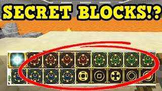 Minecraft Xbox 360 / PS3 SECRET BLOCKS & Structure Blocks In Code
