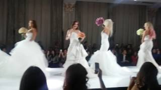 Московские селебрети в свадебных платьях от Vera Wang