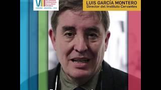 Luis Garcia Montero en el CILE