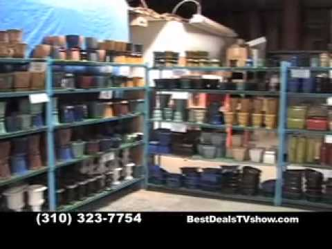 Wholesale-to-the-Public Pottery MFG on Best Deals TV Show