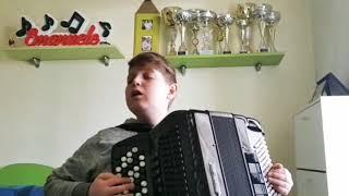 LE COEUR DE LAURA – Emanuele Viti si esercita nella sua cameretta – Musica di Gianluca Pica