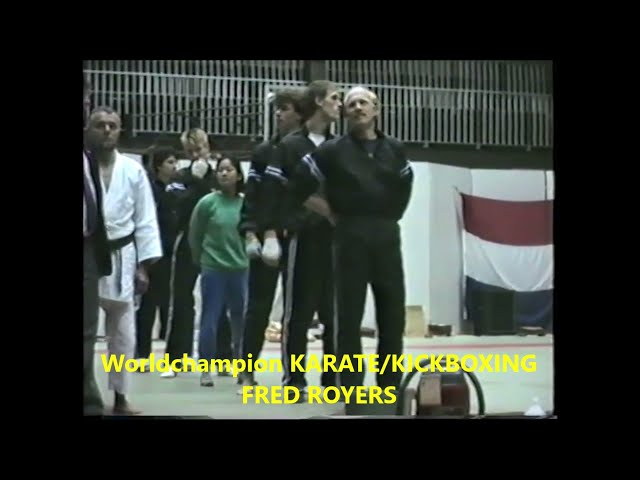 Presentation GROUPS and behind the scenes 4th Int  Martial Arts Fest   Org  Sensei W  Toch 1987