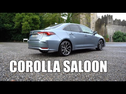 Toyota Corolla saloon review   Forget about crossovers!