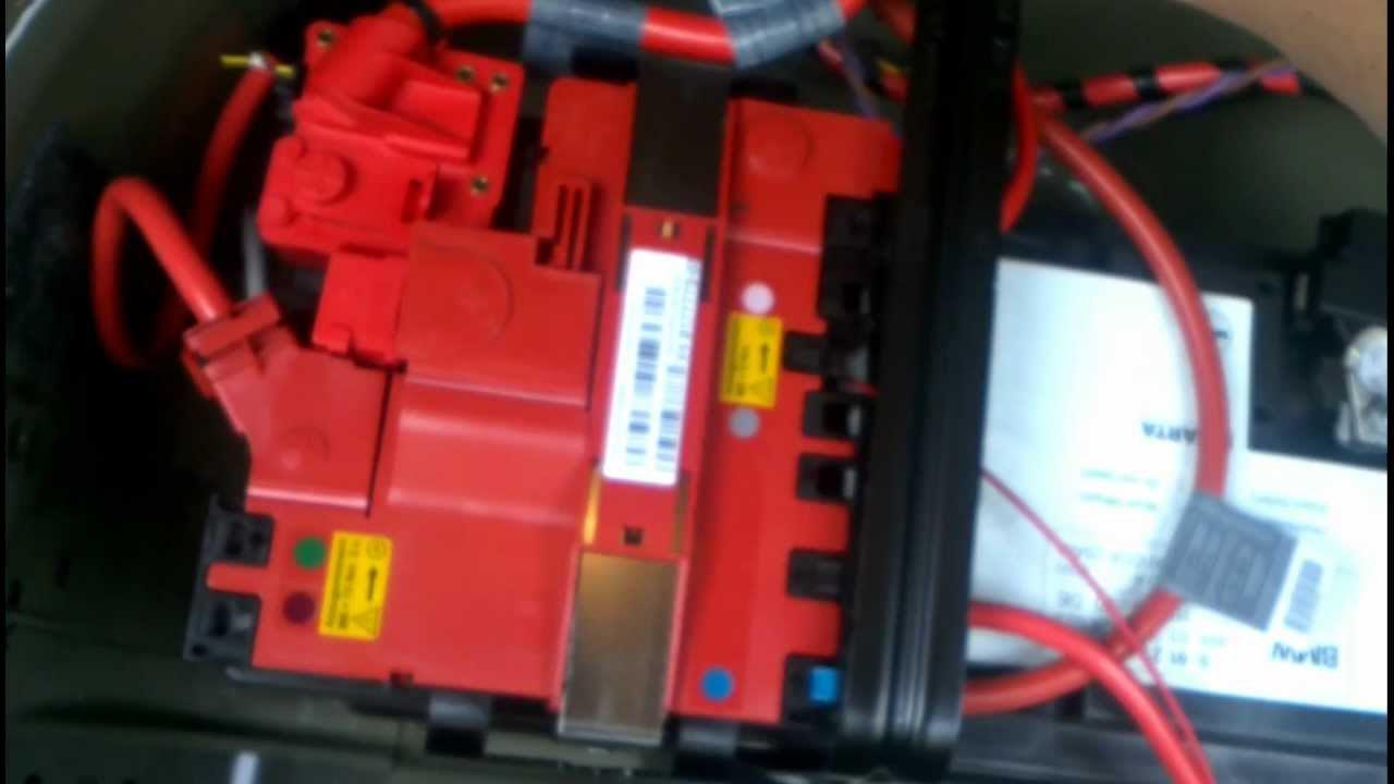 Can Wiring Diagram E60 Bmw 5 Series F10 Battery Removal How To Diy Bmtroubleu