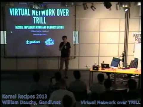 Download William Dauchy, Gandi.net - Virtual Network over TRILL
