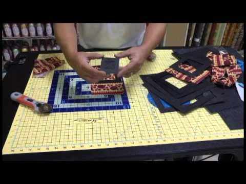 Martelli Quilting Templates : Dave s Ultimate Quilting Video Part 3: Templates - YouTube
