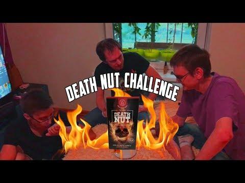 Едим САМЫЕ ОСТРЫЕ орехи в мире   Death Nut Challenge V.2   Настоящая реакция   18+