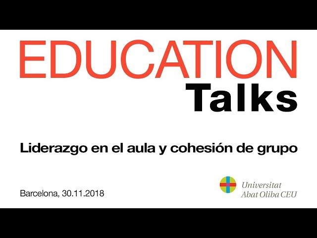 Education Talks Abat Oliba 2018