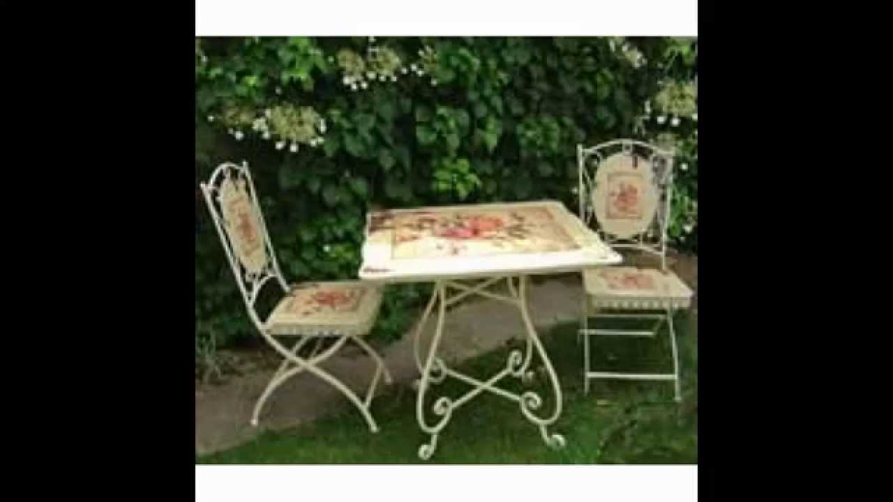 shabby chic garden furniture ideas youtube